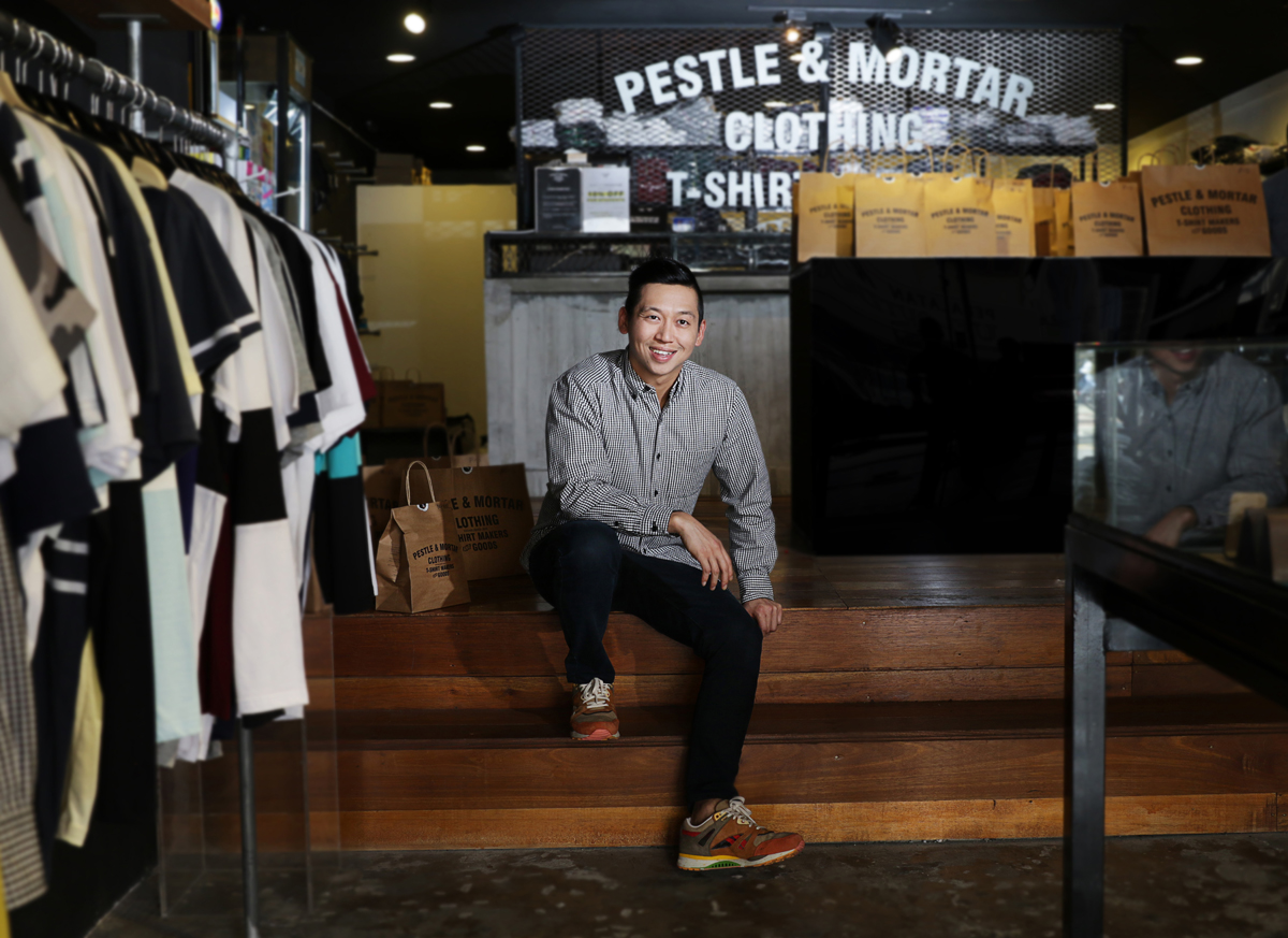 Mr Hugh Koh from Pestle & Mortar for TM BizFest 2016