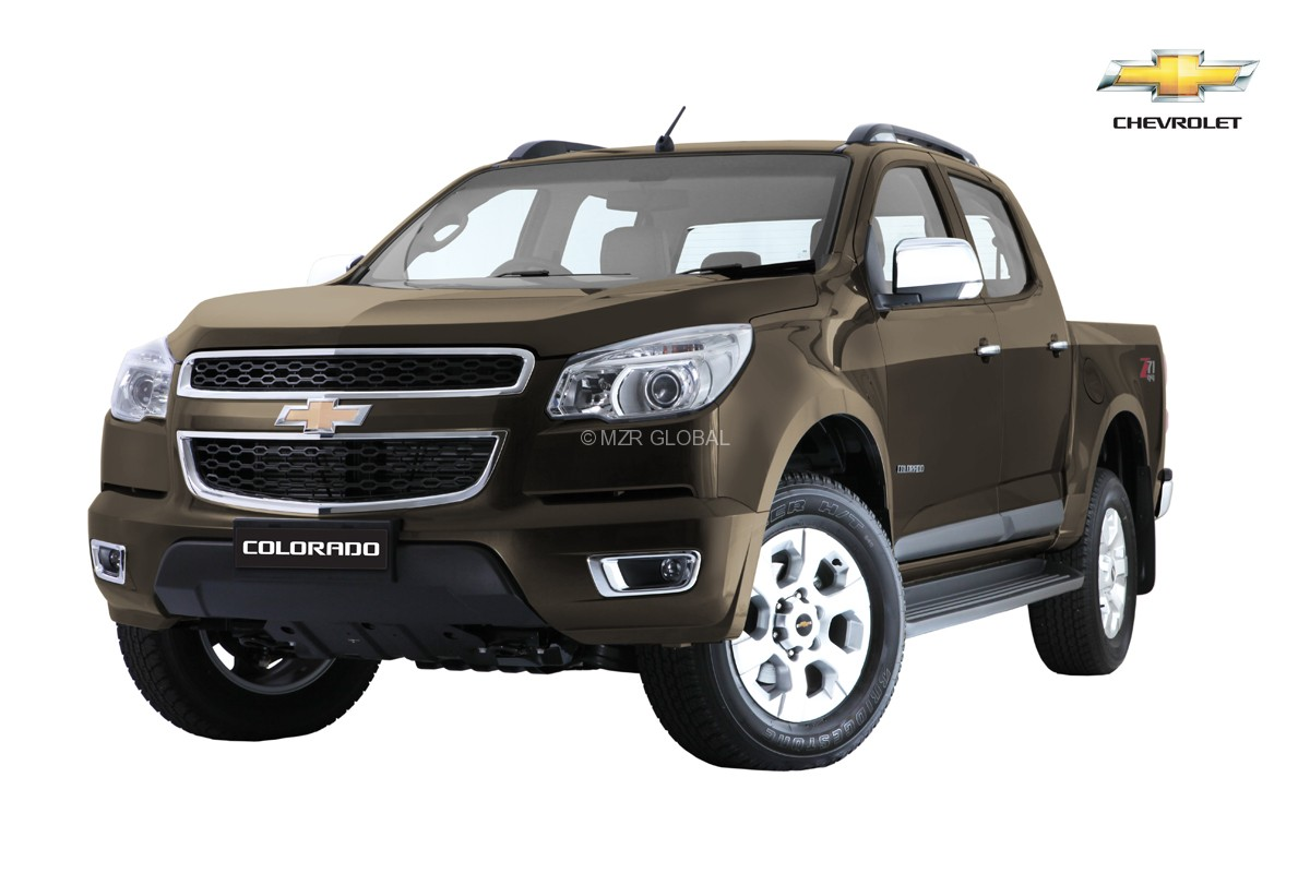 Chevrolet Colorado Auburn Brown